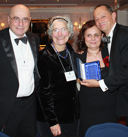 Carlo Bonomi, Roberta J. Apfel, Mészáros Judit és George Sagi