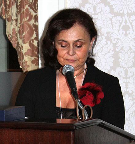 Mészáros Judit köszönő-beszéde a díjátadón, New York
