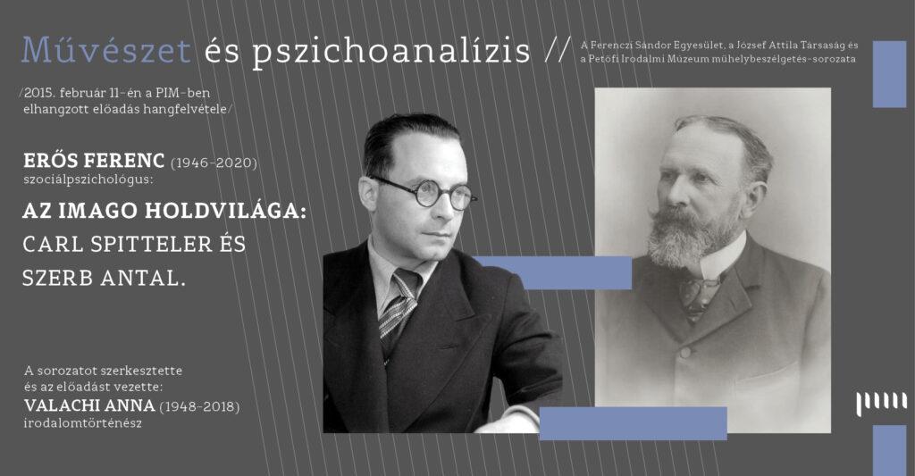 Művészet és pszichoanalízis – Archiv- Erős Ferenc: Az Imago holdvilága.